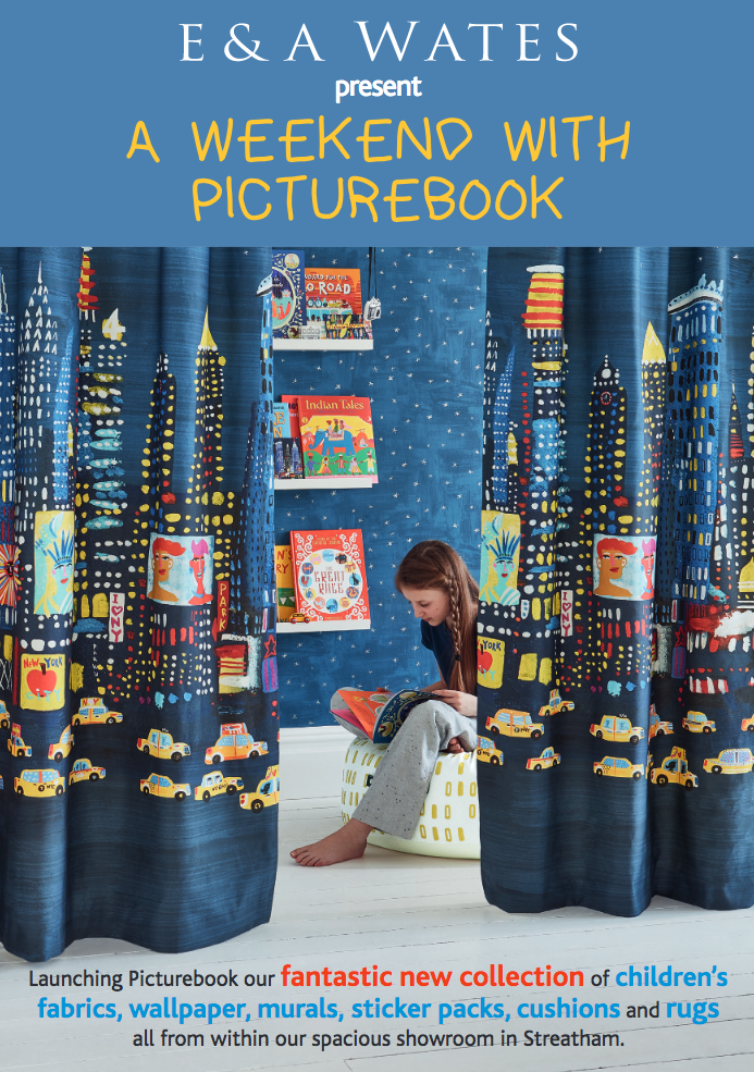 A Weekend with Picturebook at E & A Wates