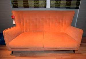 141. Simone sofa in E & A Wates sale