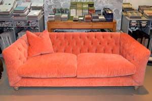 80. Truffle midi sofa in E & A Wates sale
